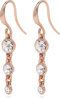 Pilgrim - Lucia Earrings, Rose Gold/Crystal