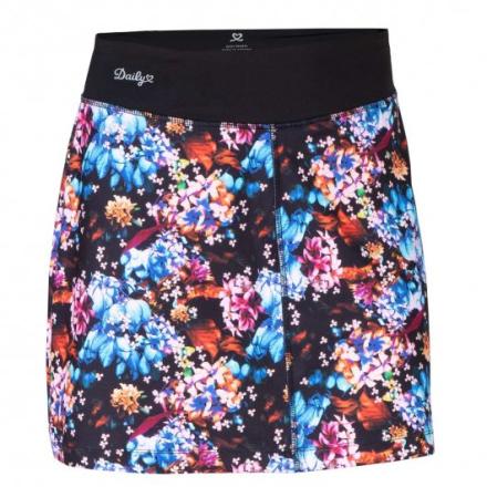 Vibrant Bloom kjol (Färg: Blommig, Storlek: S)