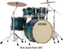 Tama Superstar Classic Drumset - Blue Lacquer Burst
