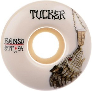 Stf Tucker Wolf Chain 83B V1 52mm Wheels white Gr. Uni