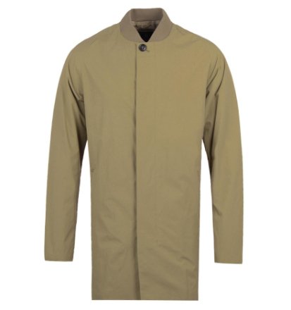 Barbour Casterfell Casual Sand line Bomber Jacket