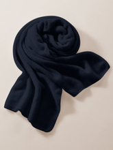 Schal aus 100% Premium-Kaschmir Fadenmeister Berlin blau