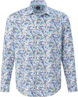 Lättstruken skjorta från Pure mångfärgad