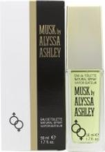 Alyssa Ashley Musk Eau de Toilette 50ml Suihke