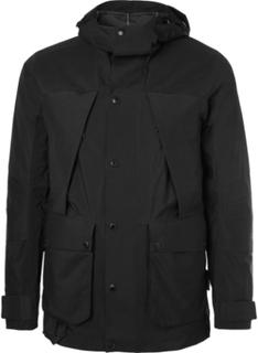 Black Series Urban Mountain Light Gore-tex And Nylon Jacket - Black