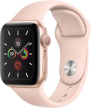 Watch Series 5 Cellular 40mm Gold Aluminum Case Sport Band Pink Sand
