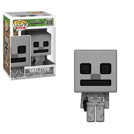 Funko Pop! Spil - Minecraft Vinyl figur - skelet - Fruugo