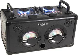 Ibiza mobila DJ ljud ljudanläggning med bluetooth, 200W