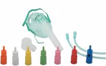 Venturi Sauerstoffmaske fur Erwachsene mit einer Konzentration Variable Valve