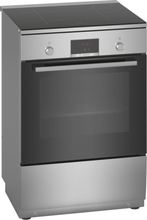 Bosch Hln39a050u Serie 4 Induksjonskomfyr - Rustfritt Stål