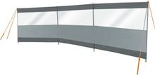 Bo-Camp Vindskydd med fönster Season 500x140 cm grå och antracit