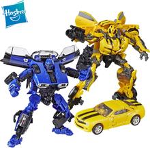 Hasbro Transformers Studio Series 46 49 Deluxe Class Movie Dropkick Bumblebee Hot Rod Drift Scrapmetal Shatter Action Figure Toy