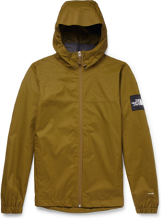 Mountain Q Waterproof Shell Hooded Jacket - Army green