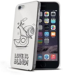 Celly Cellys med snigel Print kärlek är Blind fallet för iPhone 6 -...
