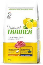 Trainer Natural Small & Toy Adult Rindfleisch / Reis Trockenfutter fur Hunde Erwachsene Sehr kleine Grose 7kg