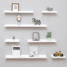 Nordic Wooden Wall Shelf Floating Shelves Trays Bookshelves TV Wall Hanging Storage Shelf Modern Wood Shelving for Home Decor