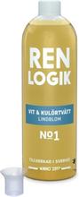 Ren Logik Vit & Kulörtvätt Lindblom 750 ml