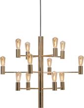 Herstal - Manola 12 Lysekrone Dæmpbar LED, Golden