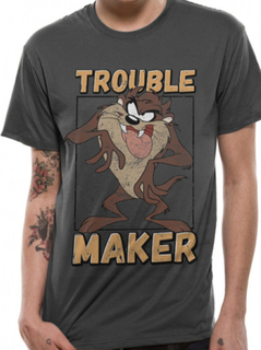 Looney TUNES TAZ problemer MAKER t-skjorte