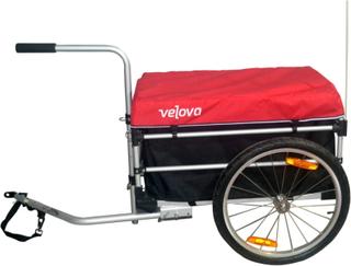 Velova Bike Trailer Cargo sykkel- & barnevogner Rød OneSize