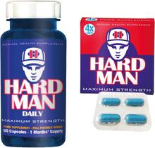 Erektionshjälp Paket 7 - Hard Man + Hard Man Daily - spara 18%