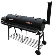 vidaXL Rökgrill Nevada XL svart