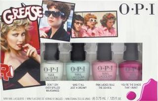 OPI Grease Collection Mini Nail Polish Gift Set 4 Pieces