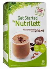 Nutrilett LCD Chocolate Shake 10 kpl