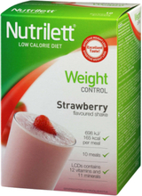 Nutrilett LCD Strawberry Shake 10 kpl