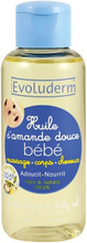 Evoluderm Sweet Almond Baby Oil 100 ml