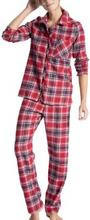 Calida Family And Friends Pyjama Flannel * Fri Frakt *