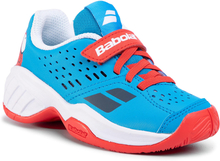 Skor BABOLAT - Pulsion All Court Kid 32S20518 Tomato Red/Blue Aster