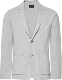 Cotton Cardigan - Light gray