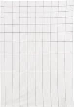 House Doctor - Logorythmic Håndkle 50x70 cm Brun/hvit