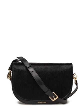 Raf Curve Handbag Pony Bags Small Shoulder Bags/crossbody Bags Svart ROYAL REPUBLIQ