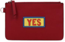 Coin Purses Men Red