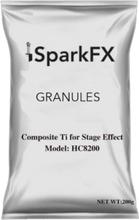 Granulated effect grains for PFX Spark Stream