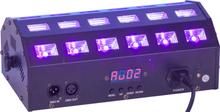 Ibiza LED bar UV+vit 24 x 3 watt