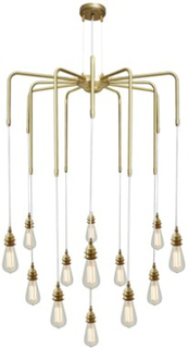 Mullan Lighting Sela takkrona - Polished brass