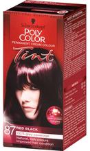 Schwarzkopf Poly Color 87 Red Black 1 kpl
