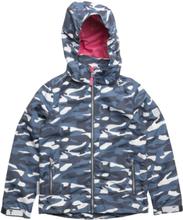 c5f3a3f7879 Jacket Lisa With Detachable Hood Allover Jakke Blå TICKET TO HEAVEN