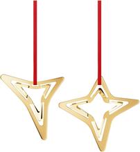 Georg Jensen 2021 tre & fire takker Ornament gull