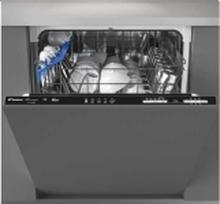 Candy CDIN 1L360PB - Opvaskemaskine - Sort