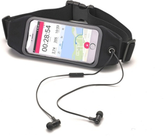 Celly Runbelt VIEW UP TO 4.7 Black