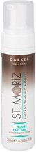 St. Moriz - Instant Self Tanning Mousse 1 Hour Fast Tan - Darker Than Dark - 200 ml
