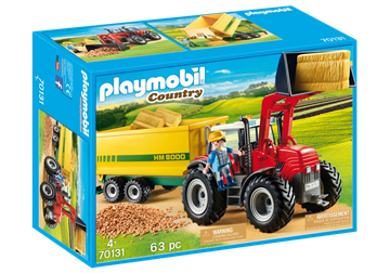 Playmobil 70131 Traktor med fodervogn - playmobilbutikken