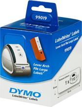DYMO LabelWriter hvide arkiveringsetiketter, 59x190mm, 1-pack (110 stk