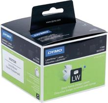 DYMO LabelWriter hvide navne etiketter, 89x41 mm, 1-pack(300 stk.)