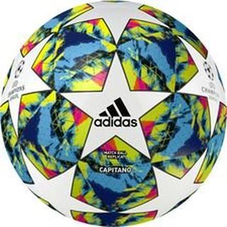 adidas Fotball Champions League 2020 Finale Capitano - Hvit/Turkis/Gul