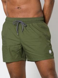 Topman Swim Shorts Badetøj Olive